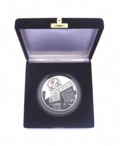 Medalhão - Acrílico e Aço